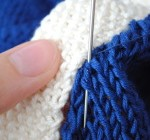 sewing in knitting