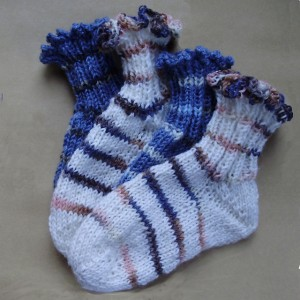 Knitting pattern Babysocks