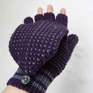 knitting patterns slip stitch flip tops