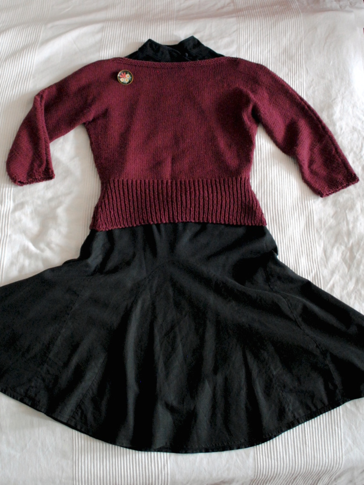 Annie Sweater Outfits Ladylike