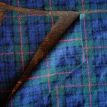 Sweater knitting and plaid skirt sewing for fall