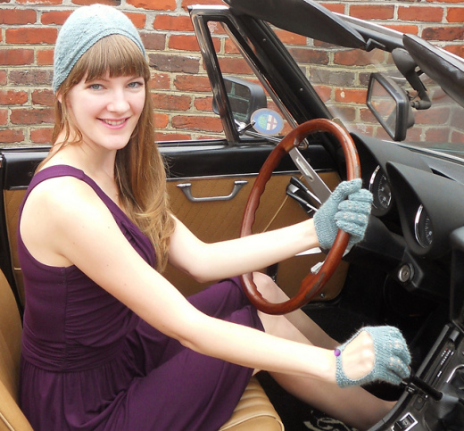Driving Cap and Gloves © @ChristenCreations
