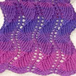 Knitted Finished Objects of Others – Lace Scarf